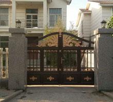 安庆李先生铸铝庭院大门