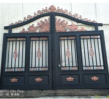 怀化孙先生铸铝庭院大门