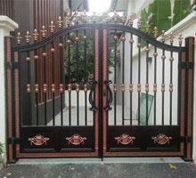 长沙张先生铸铝庭院大门