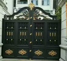 荆门韩女士铸铝庭院大门