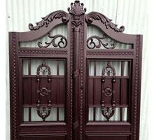 湖州李先生铸铝庭院大门
