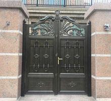 大连王先生铸铝庭院大门