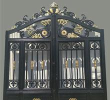 新疆孟先生铸铝庭院大门