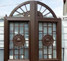 无锡张先生铸铝庭院大门