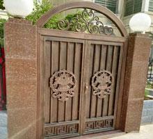 长春李先生铸铝庭院大门