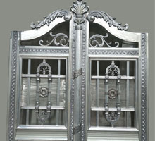 常州李女士铸铝庭院大门