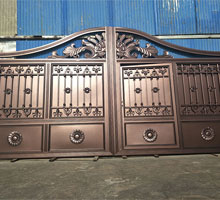 南京艾女士铸铝庭院大门
