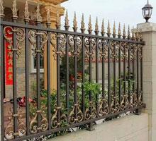 银川赵先生铸铝庭院大门