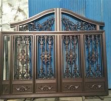 苏州马先生铸铝庭院大门