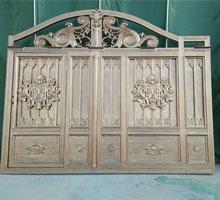 河北杨女士铸铝庭院大门