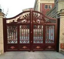 安徽张女士铸铝庭院大门