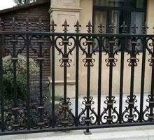西宁王先生铸铝庭院大门