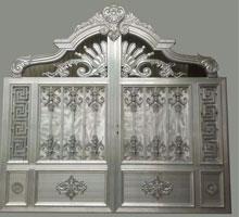 深圳李先生铸铝庭院大门