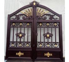 昆明李先生铸铝庭院大门