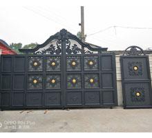 安顺刘先生铸铝庭院大门