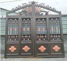 日照王先生铸铝别墅大门