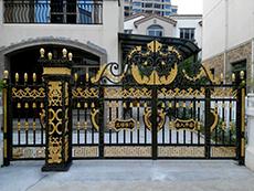 别墅庭院门DY-1128-2