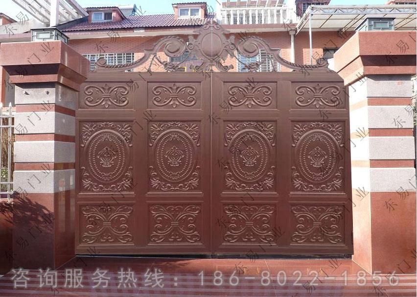 别墅围墙门