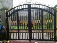别墅铸铝大门案例