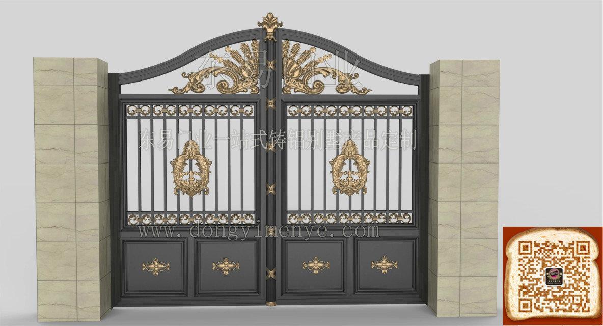 铸铝庭院大门