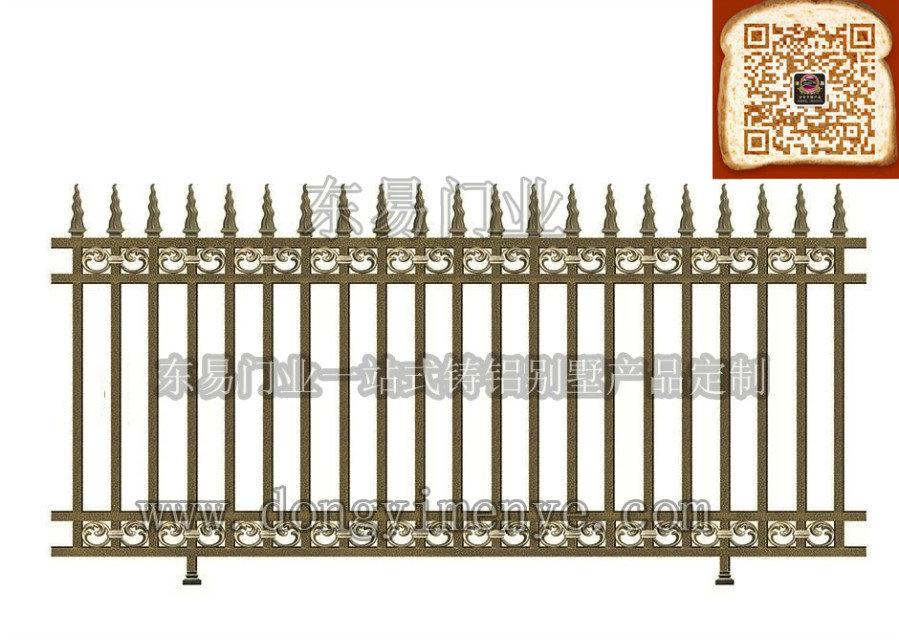 铸铝围栏护栏