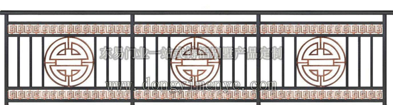 铸铝扶手护栏
