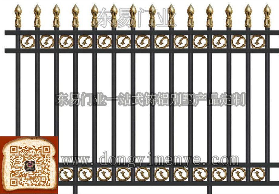 铸铝围栏效果